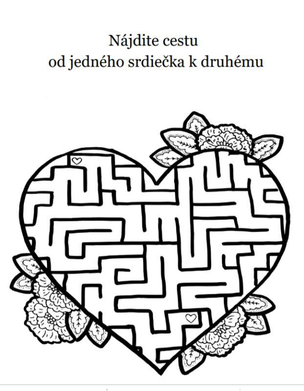 svadobna omalovanka na stiahnutie pdf