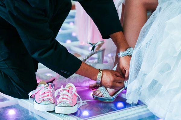 Svadobné lodičky a topánky pre deti